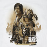 Daryl Montage - Walking Dead T-shirt