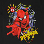 Spider-Man Slinging - Marvel Comics Juvenile T-shirt