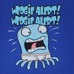 Wedgie Alert - Almost Naked Animals T-shirt