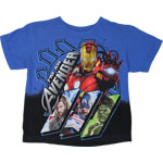 Lined Up - Avengers Juvenile T-shirt