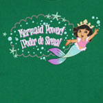 Mermaid Power - Dora The Explorer Toddler T-shirt