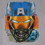 Captain Iron Hulk - Avengers T-shirt
