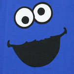 Cookie Monster Face Version 2 - Sesame Street Juvenile T-shirt