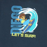 Let's Surf! - Go Diego Go Youth T-shirt