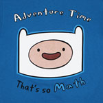 That's So Math - Adventure Time T-shirt