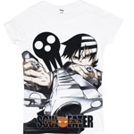 Death The Kid Sublimeation - Soul Eater Juniors T-shirt