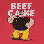 Beef Cake - Popeye T-shirt