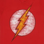 Faded Flash Logo - DC Comics T-shirt