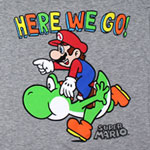 Here We Go! - Nintendo Juniors T-shirt