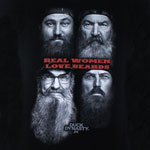 Real Women Love Beards - Duck Dynasty Juniors T-shirt