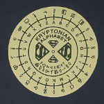 Kyrptonian Alphabet - DC Comics T-shirt