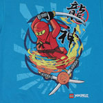 Spinning Fire - LEGO Ninjago Juvenile T-shirt
