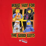 Make Way For The Good Guys - LEGO Movie Youth T-shirt