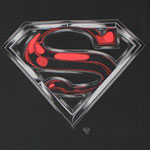 Superman Chrome Logo - DC Comics T-shirt