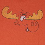Bullwinkle Face - Rocky And Bullwinkle Sheer T-shirt