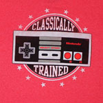 Classically Trained - Nintendo T-shirt