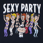 Sexy Party - Family Guy Sheer T-shirt