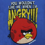 You Wouldn&#039;t Like Me When I&#039;m Angry - Angry Birds Youth T-shirt