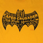 Batman Text Logo - DC Comics T-shirt