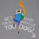 Get Ready For An Uppercut - Adventure Time T-shirt