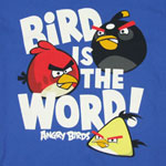 Bird Is The Word - Angry Birds Youth T-shirt