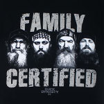 Family Certified - Duck Dynasty T-shirt