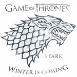 White Wolf - Game Of Thrones T-shirt