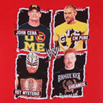 Cena, CM Punk, Mysterio, and Sheamus - WWE Juvenile And Youth T-shirt