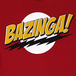 Bazinga! - Big Bang Theory Sheer Women&#039;s T-shirt
