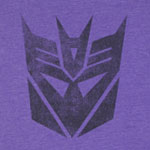 Retro Decepticon - Transformers Sheer T-shirt