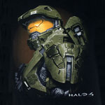 Master Chief Portrait - Halo 4 T-shirt