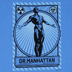 Dr. Manhattan - Watchmen T-shirt