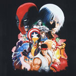 Big Domes - Marvel Vs. Capcom Sheer T-shirt