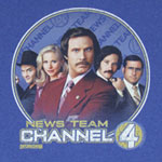 News Team - Anchorman T-shirt