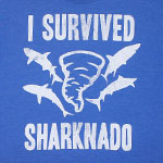I Survived Sharknado - Sharknado T-shirt