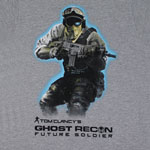 Soldier - Tom Clancy&#039;s Ghost Recon Future Soldier T-shirt