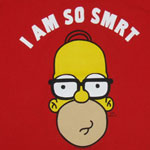 Homer Is Smrt - Simpsons T-shirt