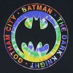 Batman Logo On Tie-Dye - DC Comics T-shirt