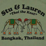 Stu And Lauren - Hangover II T-shirt