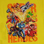 Super Heroes - Marvel Comics Juvenile T-shirt