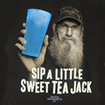 Sip A Little Sweet Tea Jack - Duck Dynasty T-shirt