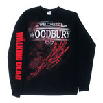 Welcome To Woodbury - Walking Dead Long Sleeve T-shirt