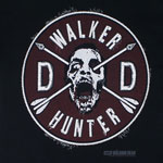 Walker Hunter Patch - Walking Dead T-shirt