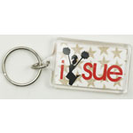 I Cheer Sue - Glee Keychain