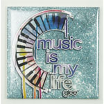 Music Is My Life - Glee Magnet