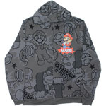 Mario All Over - Nintendo Zip Hooded Sweatshirt