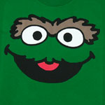 Oscar Face Version 2 - Sesame Street Youth T-shirt