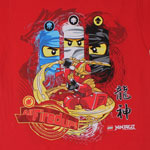 All Fired Up - LEGO Ninjago Youth T-shirt