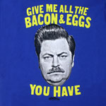 Bacon And Eggs - Parks And Recreation T-shirt