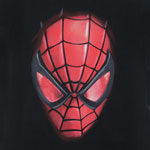 Dark Spider-Man Face - Marvel Comics T-shirt